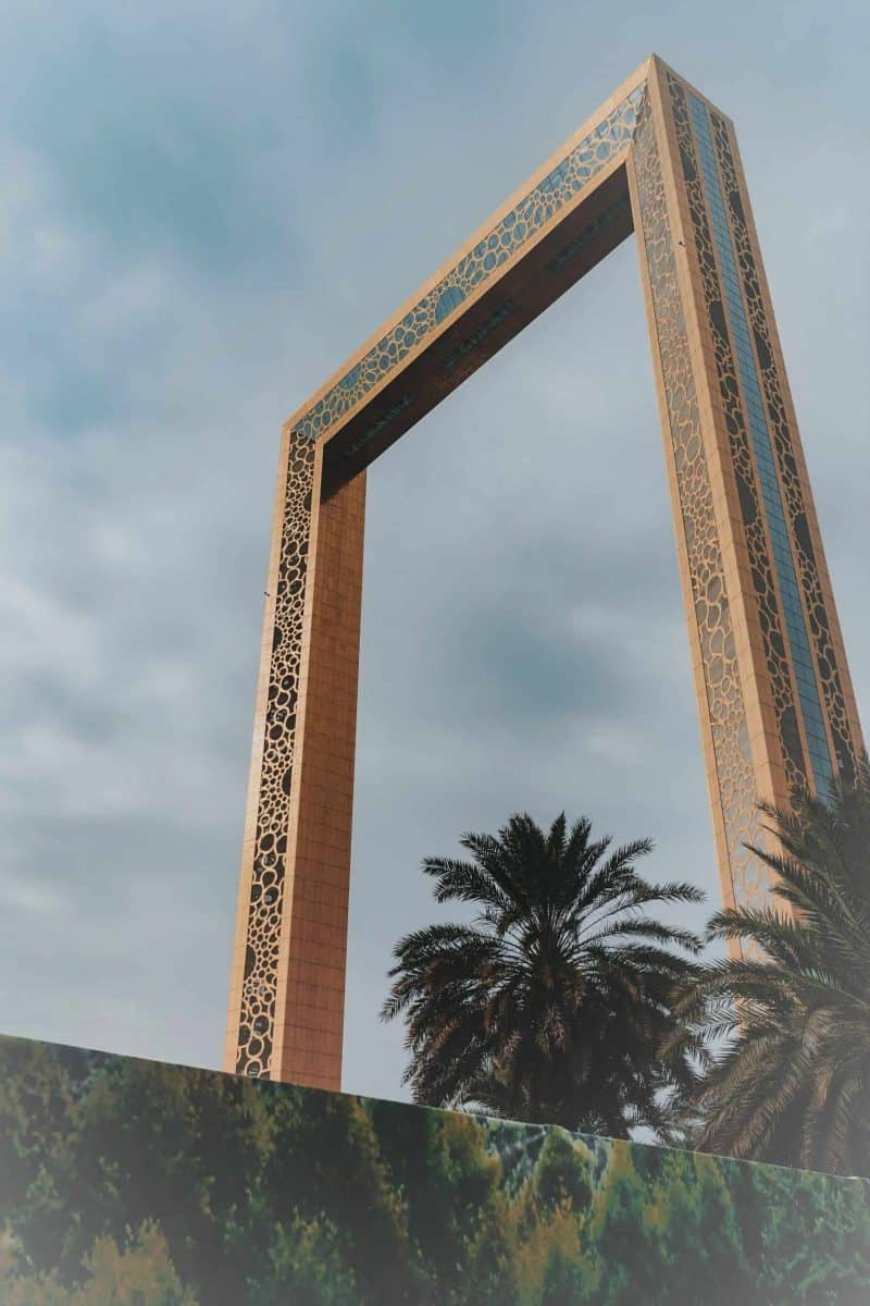 Dubai Frame מסגרת דובאי